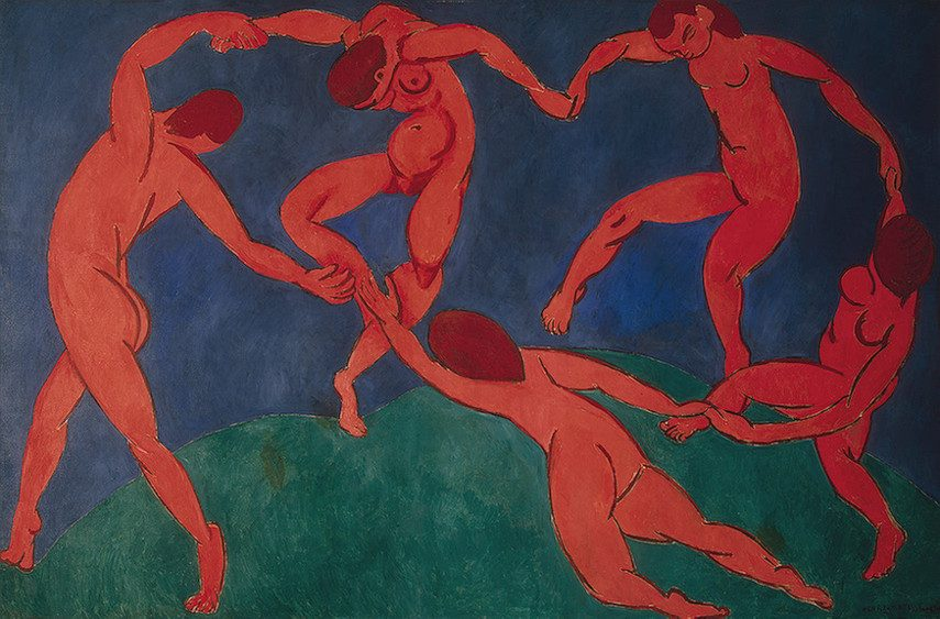 Henri Matisse - The Dance, 1910