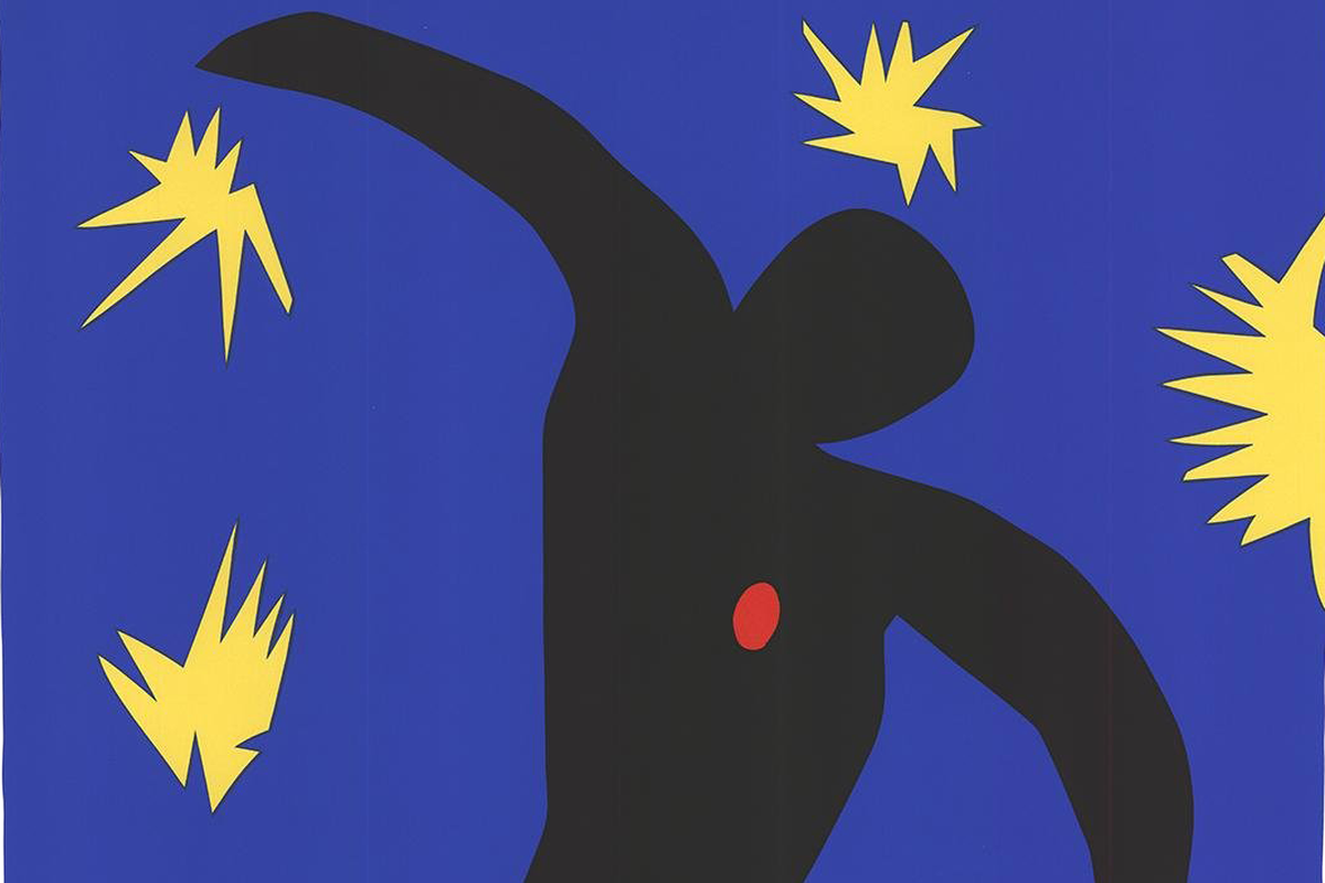Henri Matisse - The Fall Of Icarus (detail), 1994