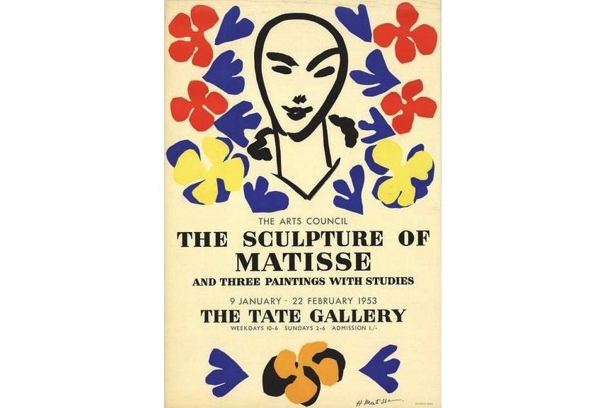 Henri Matisse - The Sculpture of Matisse, 1953