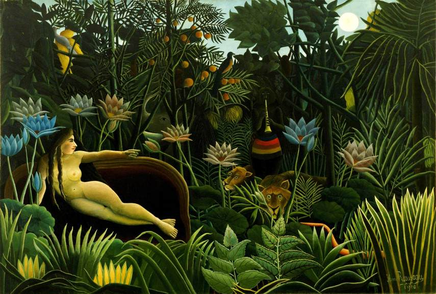 Rousseau paintings are on main stage of Page National Gallery, with Picasso and forest works