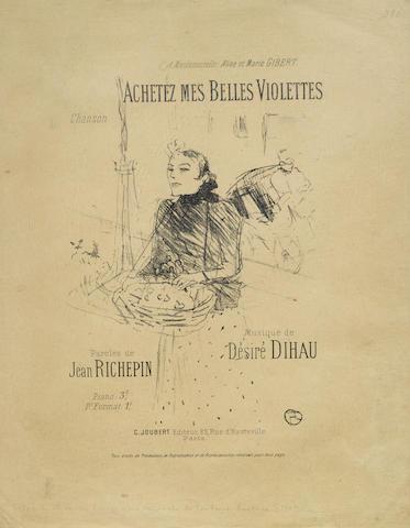 Henri de Toulouse-Lautrec-Achetez mes belles violettes-1895