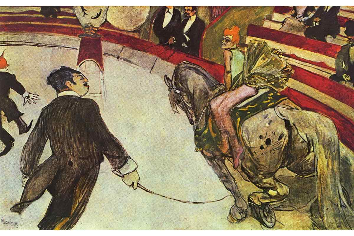 Henri de Toulouse-Lautrec - At the Circus Fernando the Rider