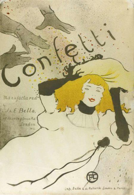 Henri de Toulouse-Lautrec-Confetti-1894