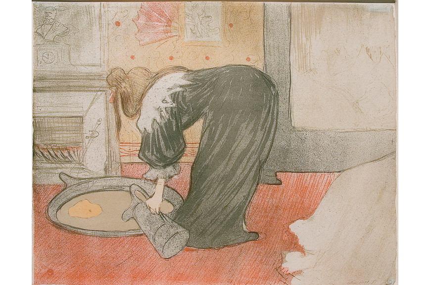 Henri de Toulouse-Lautrec - Femme au tub