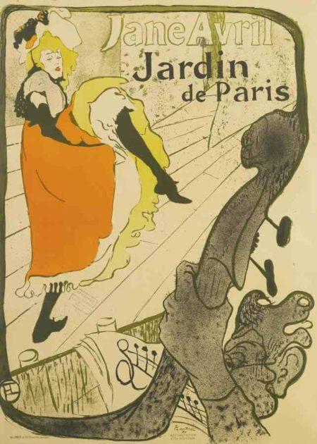Henri de Toulouse-Lautrec-Jane Avril-1893