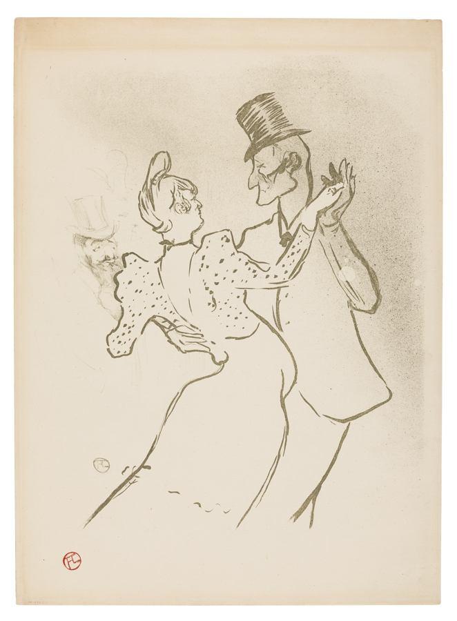 Henri de Toulouse-Lautrec-La Goulue-1894