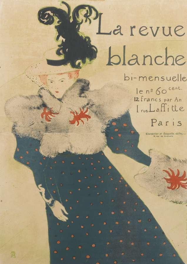 Henri de Toulouse-Lautrec-La Revue Blanche-1895