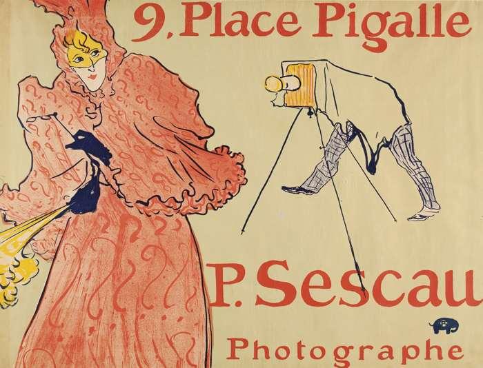Henri de Toulouse-Lautrec-Le Photographe Sescau-1896