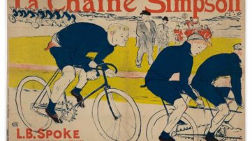 Henri de Toulouse-Lautrec - Poster for La Chaine Simpson