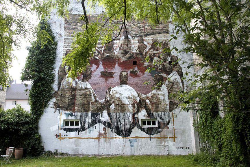 henrik haven, soren solkaer, surface, copenhagen, murals