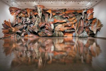 What is installation art and what are the famous installations