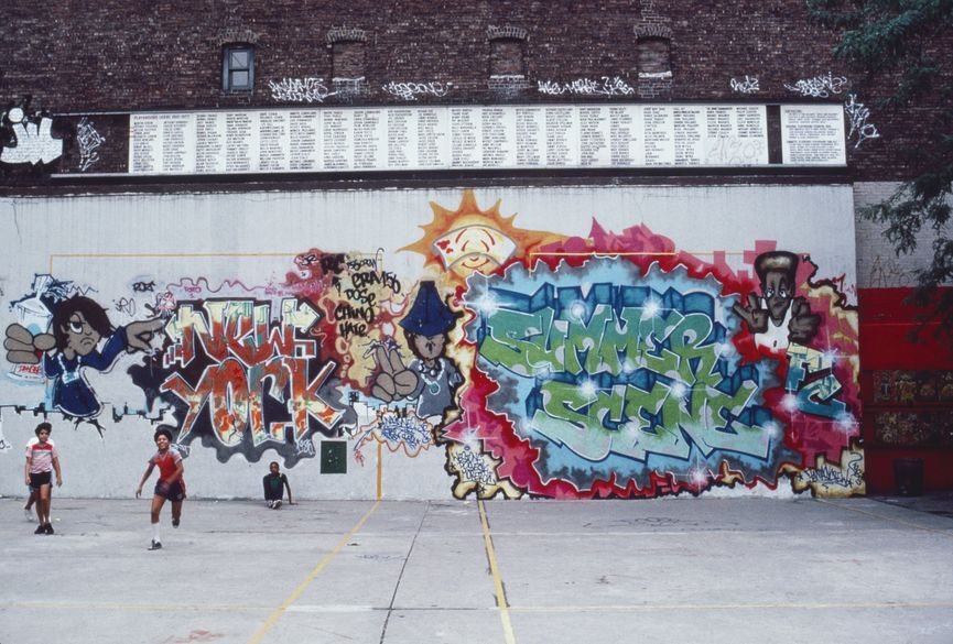 Henry Chalfant - Eye of the Tiger, by Bil Blast, Amsterdam and 101 st. Manhattan, 1982