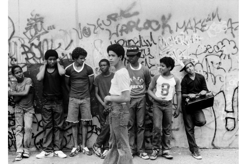 Henry Chalfant - Rock Steady Crew at the Dyckman St Playground,1981
