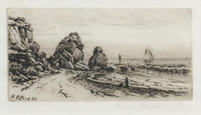 Henry Chapman Ford-Castle Rock Santa Barbara-1888