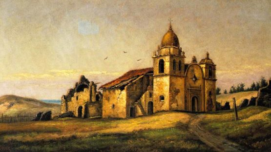 Henry Chapman Ford-The Athenaeum - San Carlos Mission