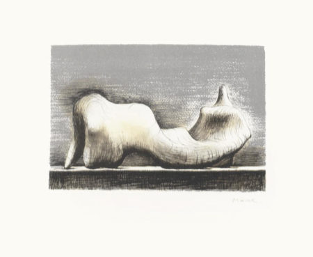 Henry Moore-Reclining Figure-1974