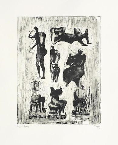 Henry Moore-Seven Sculptural Ideas-1973