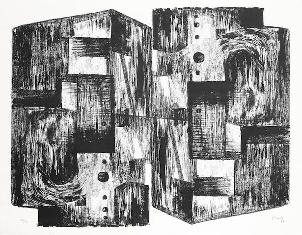 Henry Moore-Square Forms-1963