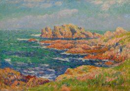 Henry Moret-Les Rochers A Quessant-1902