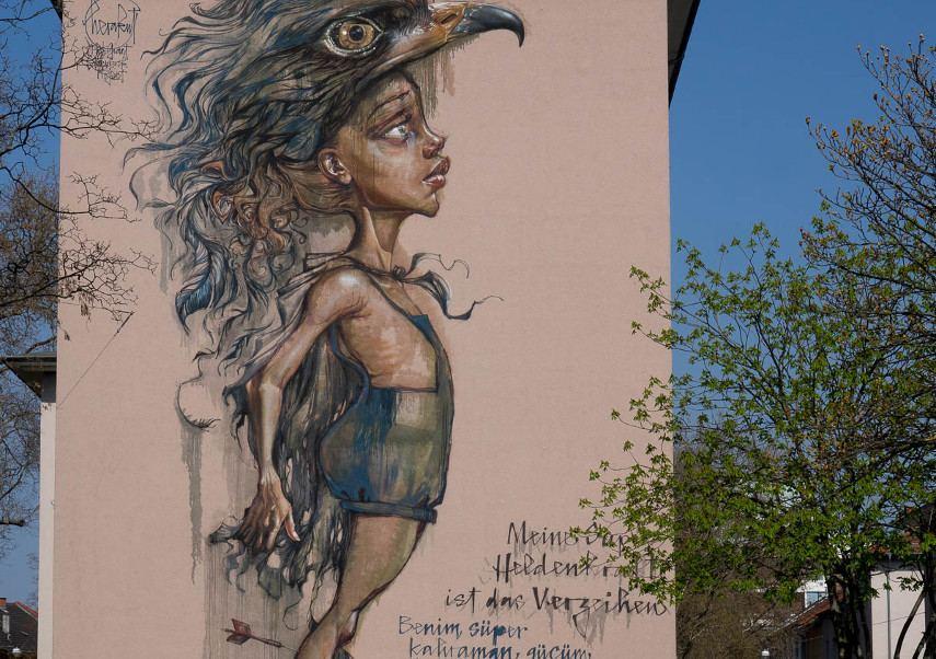 Herakut -Mannheim , 2015