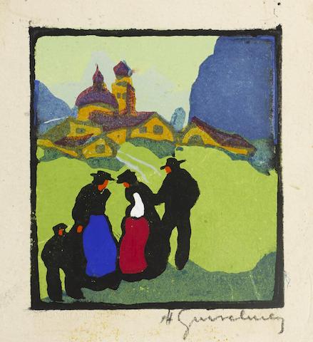 Herbert Gurschner-Summer; Winter-1930