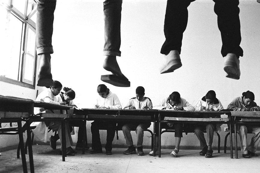 Hicham Benohoud - Untitled, La salle de classe, 1994-2002