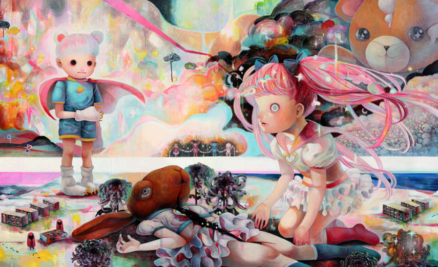 Hikari Shimoda - The World We Do Not Know Today, 2012 prints artwork tokyo shop artist instagram