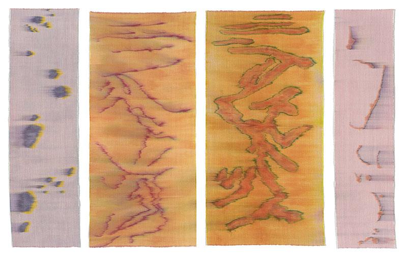 Hildur Ásgeirsdóttir Jónsson - Strata 8, 2, 9 and Scroll 13, 2013