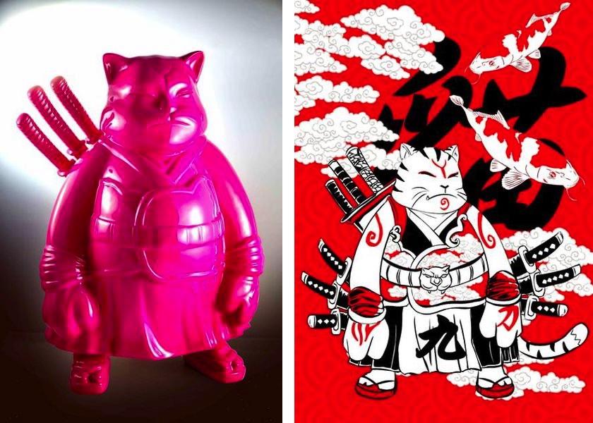 9 swords samuraicat, 2019, samuraicat, 2006
