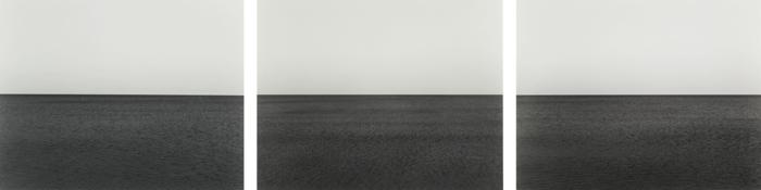 Hiroshi Sugimoto-Baltic Sea Rugen (Triptych)-1996