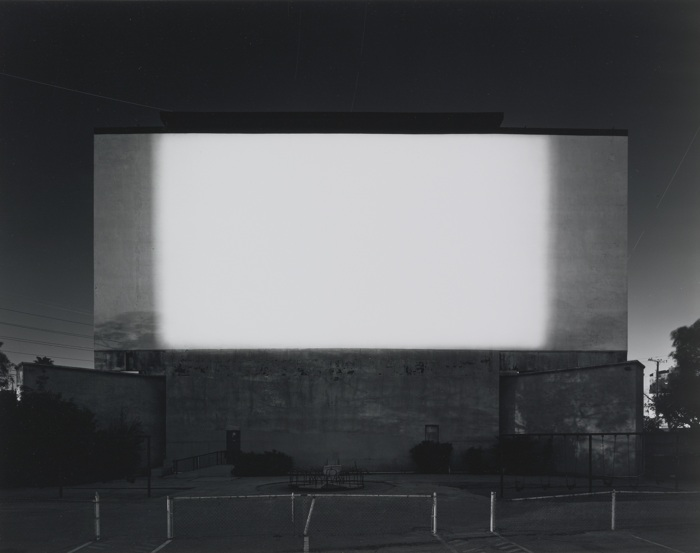 Hiroshi Sugimoto-Centinela Drive-In, Los Angeles (#707)-1993