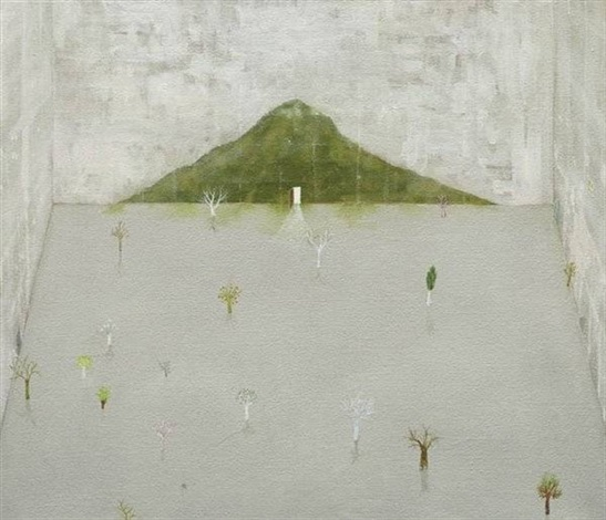 Hiroshi Sugito-Mountain Wall-1998