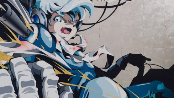 Hiroyuki Matsuura - Meteo Over Drive (detail), 2015