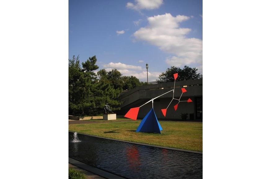 Hirshhorn Museum's Sculpture Garden, Alexander Calder