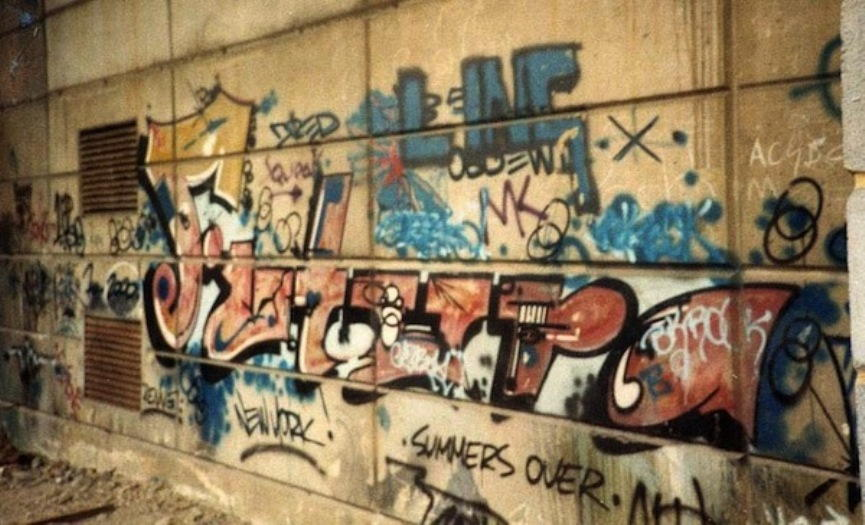 History of Street Art in the UK