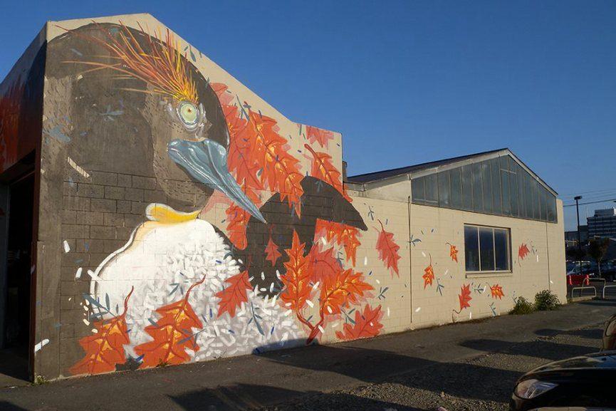 Hitnes Mural