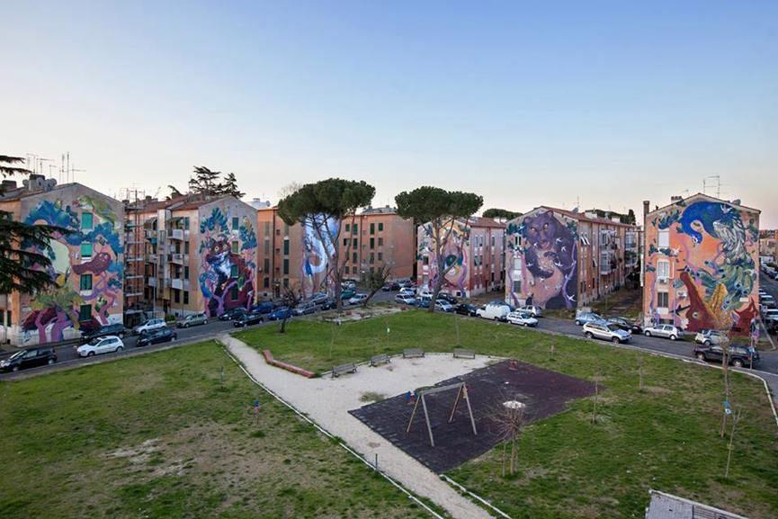 Hitnes Murals