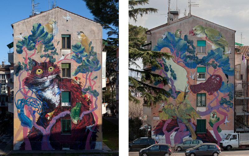 Hitnes - Sanba Project, 2015 - Rome, Italy