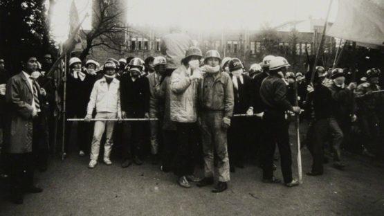 Hitomi Watanabe - Komaba Campus, University of Tokyo, 1968 (detail)