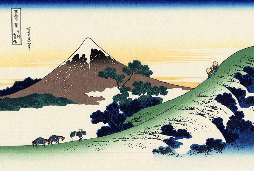 Hokusai – One of the 36 Views of Mount Fuji,1832
