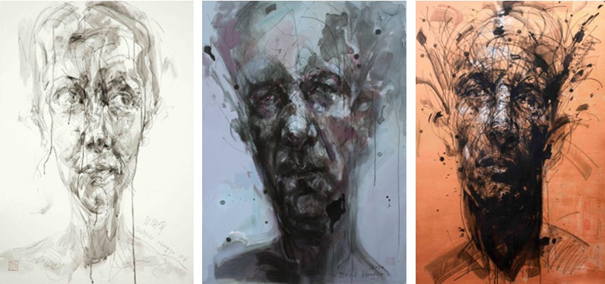 Hongyu Zhang - No. 70, 2008 (Left) / No.120, 2010 (Middle) / No. 160, 2012 (Right)