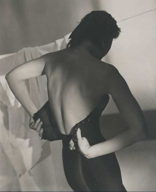 Horst P. Horst - Black Corset-1947