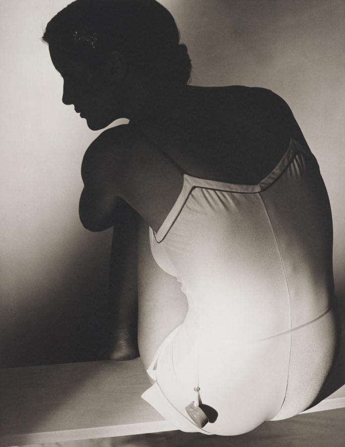 Horst P. Horst-Courreges bathing suit, Paris-1978