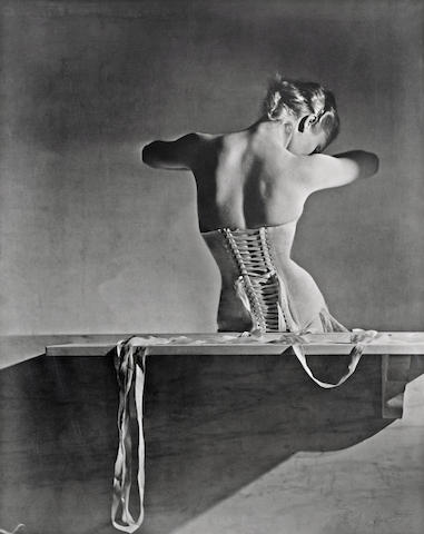 Horst P. Horst-Mainbocher Corset, Paris-1939