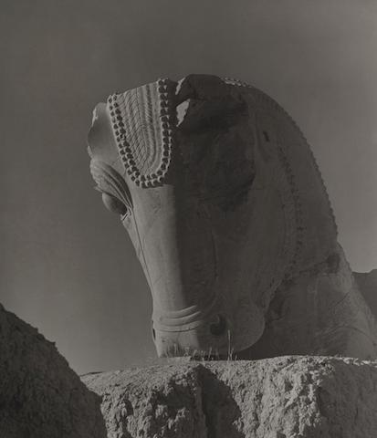 Horst P. Horst-Persepolis Bull, Iran-1949