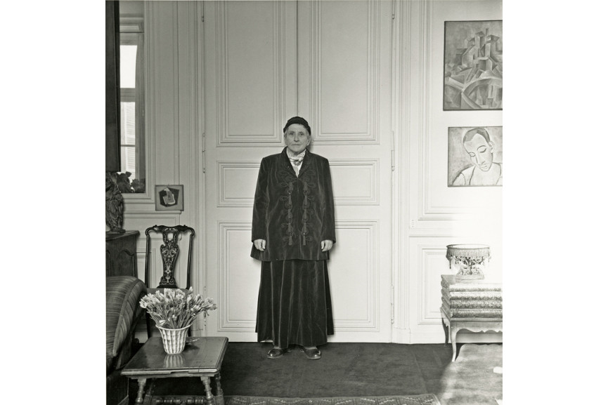 Horst P.Horst - Portrait of Gertrude Stein Wearing Balmain Suit, 1946 - Quotes like these were really liked by everybody as a good quote provided a strong sense of what to write and to view