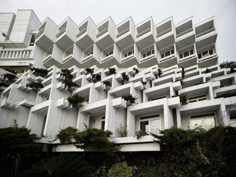 Hotel Adriatic II, 1970–71 on view at Toward a Concrete Utopia