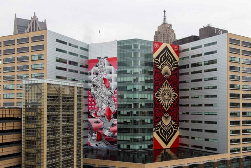 How & Nosm - Balancing Act, Detroit via crainsdetroit com