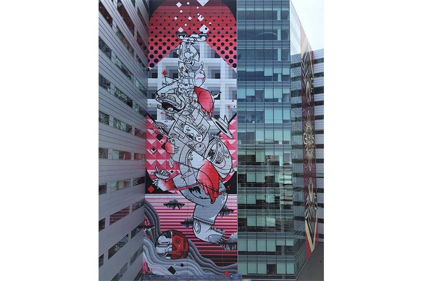 How & Nosm - Balancing Act via widewalls facebook
