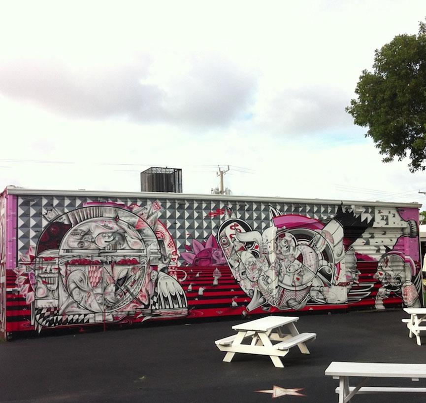 Street art at Wynwood